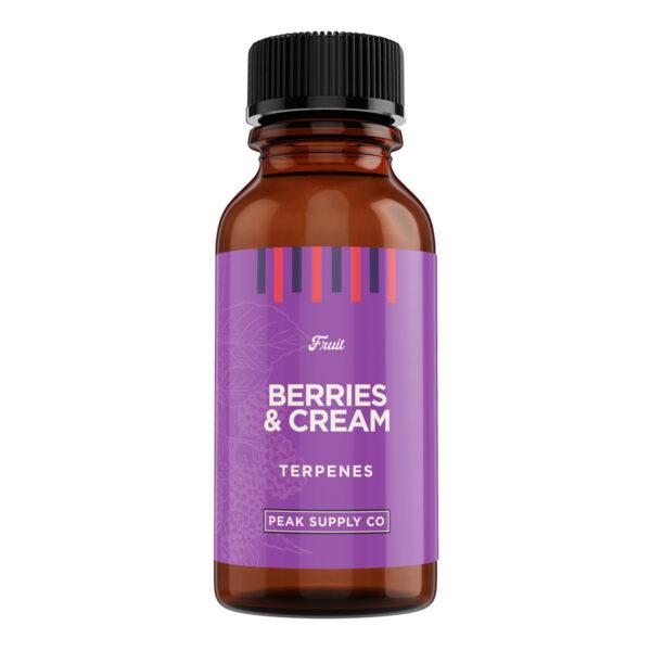 Berries & Cream terpene profile